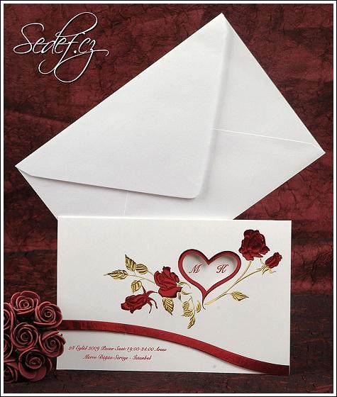 Svatební oznámení vzor 2395