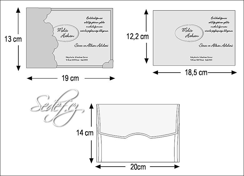 Rozměry svatebního oznámení 2496