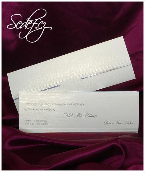 Svatební oznámení vzor 2518