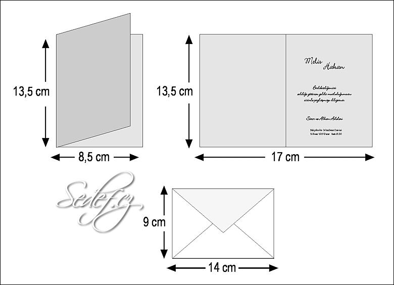 Rozměry svatebního oznámení 2520