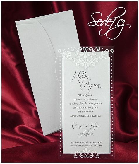 Svatební oznámení vzor 2528