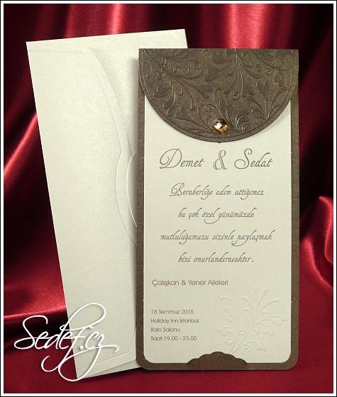 Svatební oznámení vzor 2530
