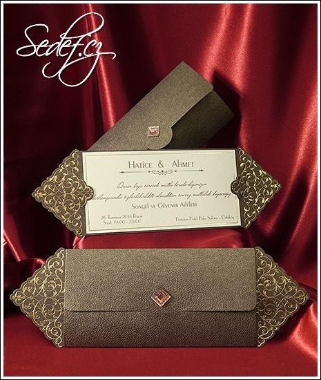 Svatební oznámení vzor 2565