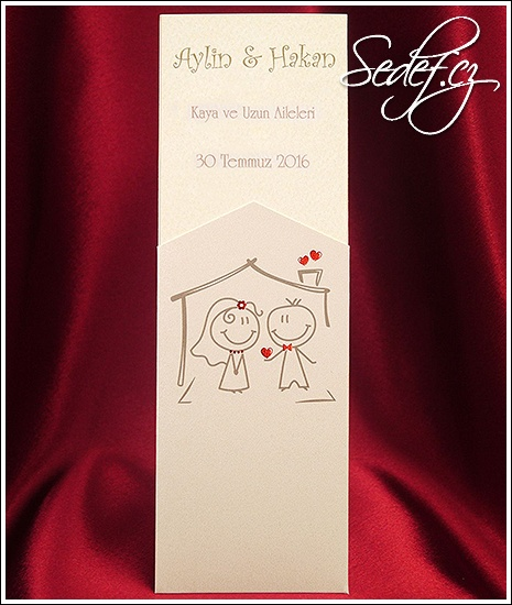 Svatební oznámení vzor 2592