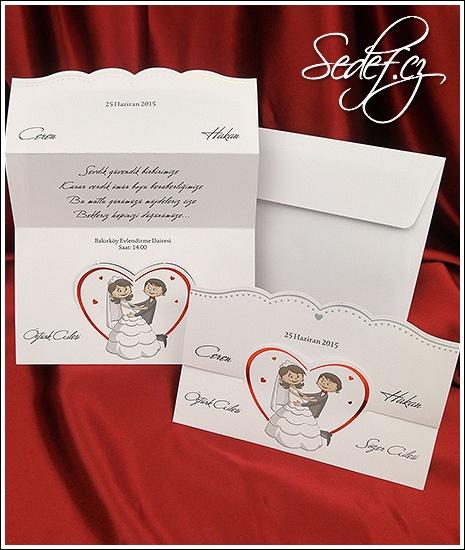 Svatební oznámení vzor 2601