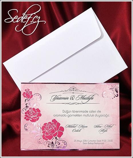 Svatební oznámení vzor 2636