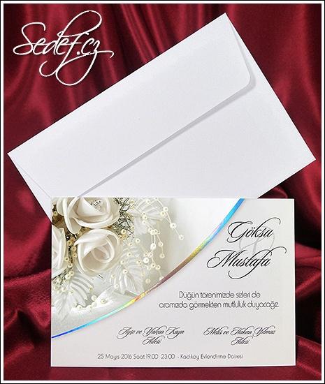 Svatební oznámení vzor 2637