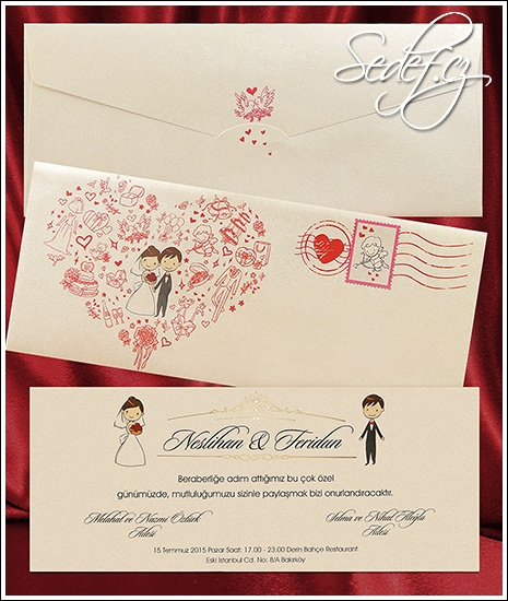 Svatební oznámení vzor 2639