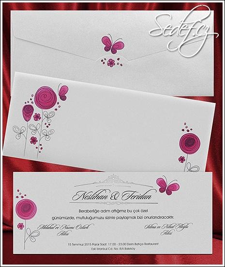Svatební oznámení vzor 2645