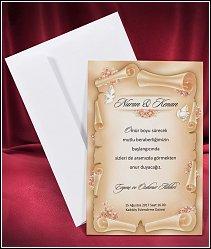 Svatební oznámení vzor 2650
