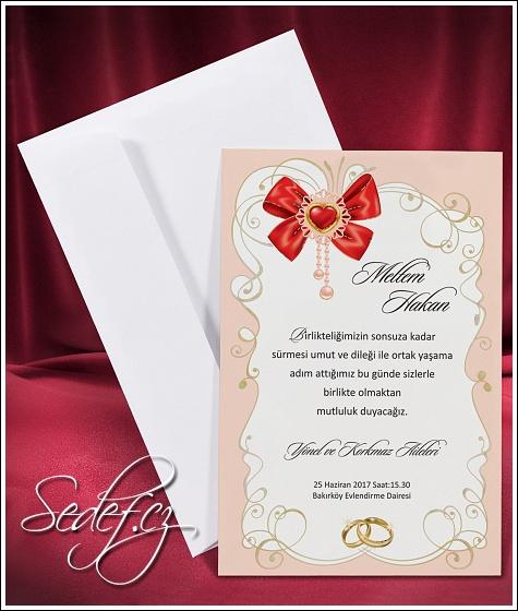 Svatební oznámení vzor 2655