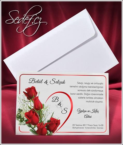 Svatební oznámení vzor 2656