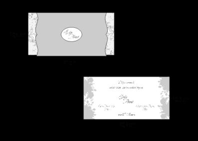 Rozměry svatebního oznámení 2665