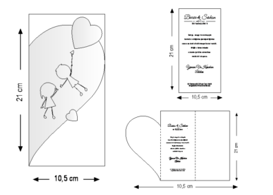 Rozměry svatebního oznámení 2669