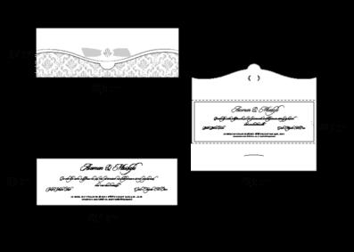 Rozměry svatebního oznámení 2677