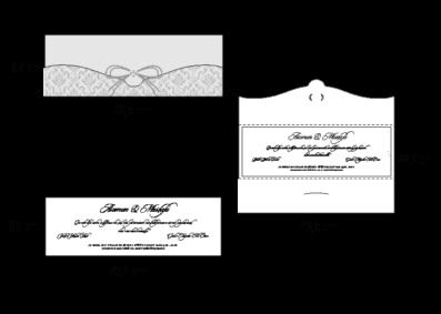 Rozměry svatebního oznámení 2678