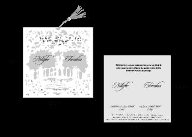 Rozměry svatebního oznámení 2680