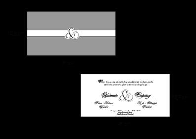 Rozměry svatebního oznámení 2682