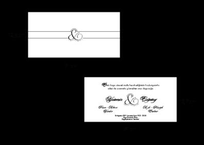 Rozměry svatebního oznámení 2683