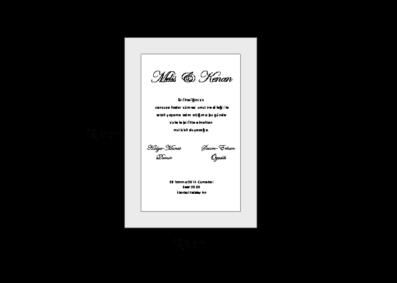 Rozměry svatebního oznámení 2684