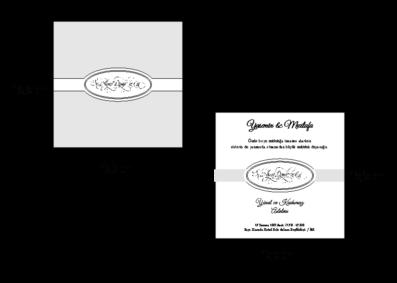 Rozměry svatebního oznámení 2685