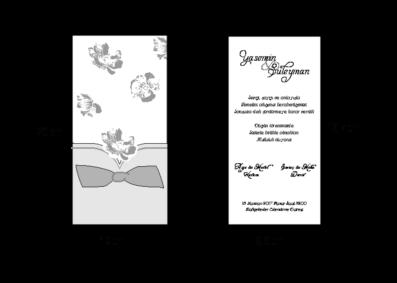 Rozměry svatebního oznámení 2690