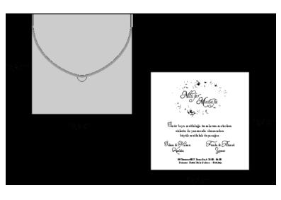 Rozměry svatebního oznámení 2691