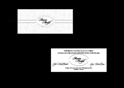 Rozměry svatebního oznámení 2693