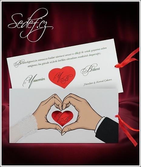 Svatební oznámení vzor 2700