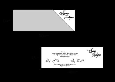 Rozměry svatebního oznámení 2702