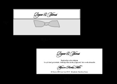 Rozměry svatebního oznámení 2711