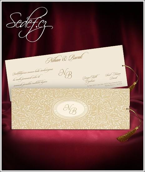 Svatební oznámení vzor 2713