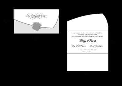 Rozměry svatebního oznámení 2715