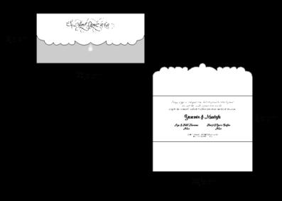 Rozměry svatebního oznámení 2716
