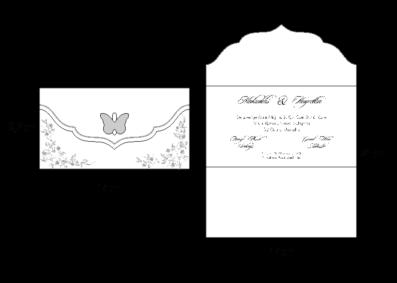 Rozměry svatebního oznámení 2720