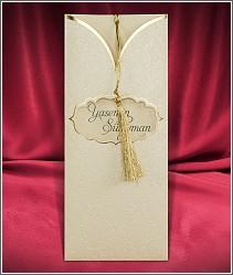 Ornamenty zdobené svatební oznámení vzor 2723