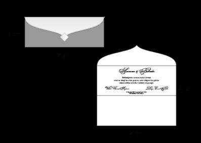 Rozměry svatebního oznámení 2728