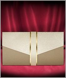 Vkusné svatební oznámení ve tvaru dopisní obálky vzor 2730