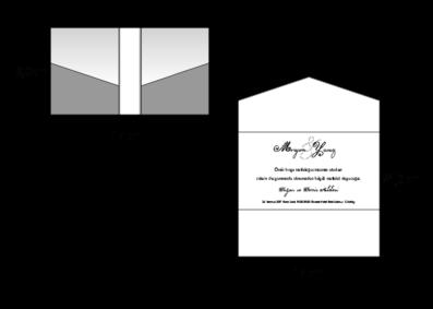Rozměry svatebního oznámení 2730