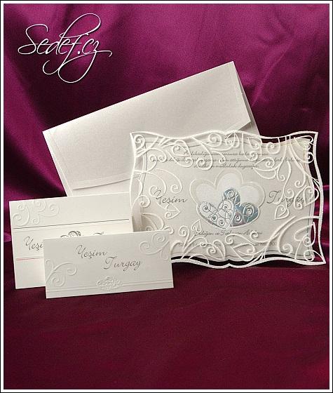 Svatební oznámení vzor 3585