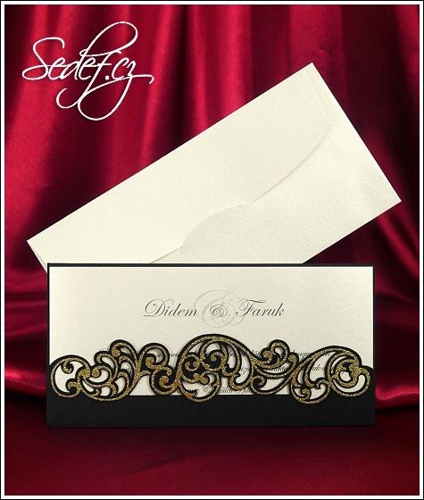 Svatební oznámení vzor 3648