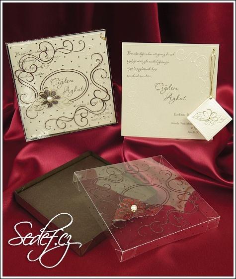 Svatební oznámení vzor 3649
