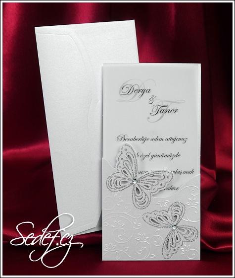 Svatební oznámení vzor 3658