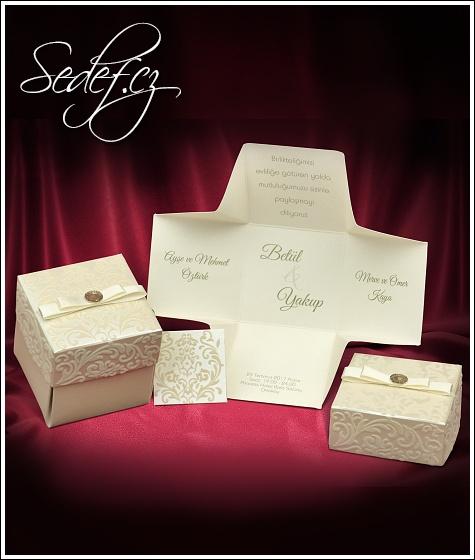 Svatební oznámení vzor 3673