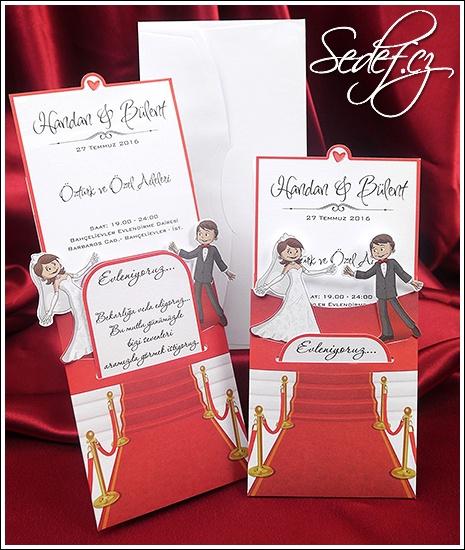 Svatební oznámení vzor 5422