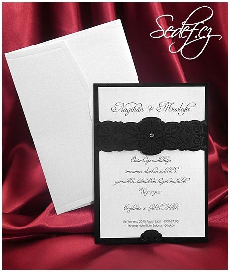 Svatební oznámení vzor 5423
