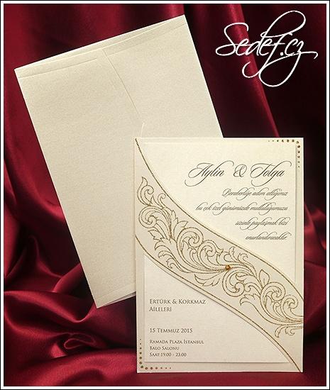 Svatební oznámení vzor 5432