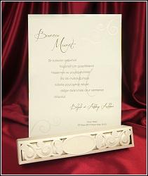 Svatební oznámení vzor 5433