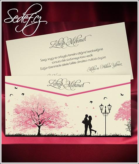 Svatební oznámení vzor 5468