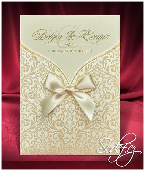 Svatební oznámení vzor 5471